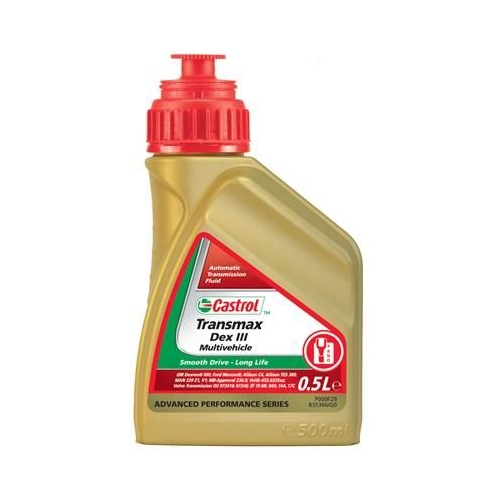 CASTROL Automatikgetriebeöl 500ml TRANSMAX DEX III MULTIVEHICLE 154EF6