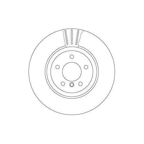 Brake Disc TRW DF6624S BMW