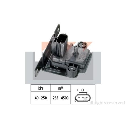 Drucksensor, Bremskraftverstärker KW 493 058 Made in Italy - OE Equivalent