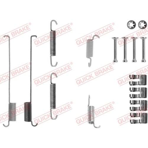 Accessory Kit, brake shoes QUICK BRAKE 105-0739