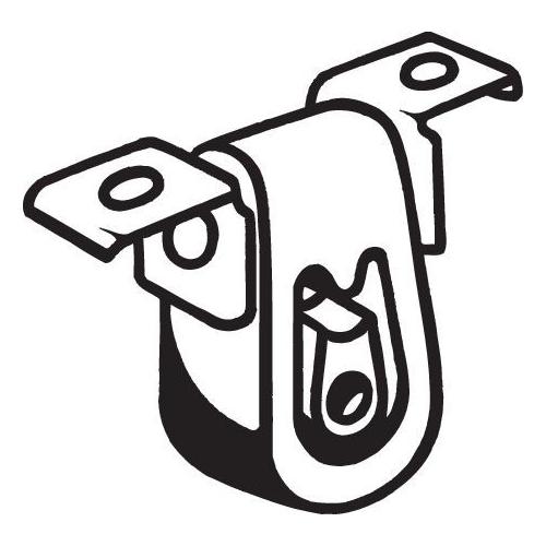 BOSAL Rubber Buffer, silencer 255-034