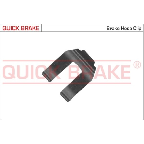 Holding Bracket, brake hose QUICK BRAKE 3200 MERCEDES-BENZ OPEL SKODA VW