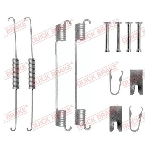 Accessory Kit, brake shoes QUICK BRAKE 105-0781
