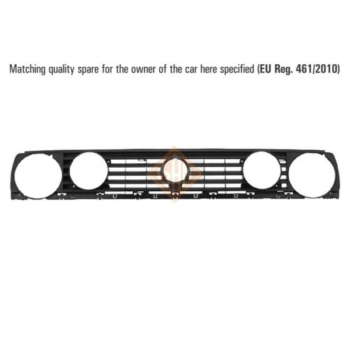 ISAM 0917450 Kühlergitter vorne für VW Golf II