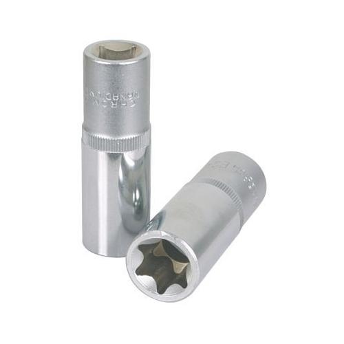 KS TOOLS 1/2 inch Torx E Socket, 78mm, E14 911.4426