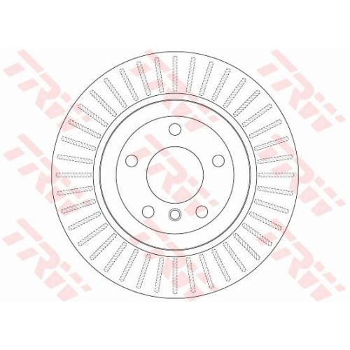 Brake Disc TRW DF6299 BMW