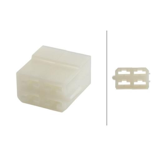 Plug Housing HELLA 8JD 008 151-041 SCANIA