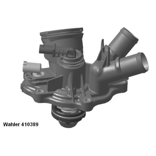 Thermostat, coolant BorgWarner (Wahler) 410389.103D MERCEDES-BENZ