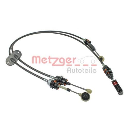 Seilzug, Schaltgetriebe METZGER 3150042 FORD