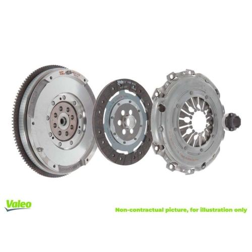 Kupplungssatz VALEO 837057 FULLPACK DMF AUDI VW