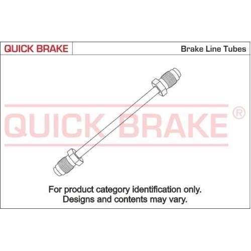 Bremsleitung QUICK BRAKE CN-0410A-A