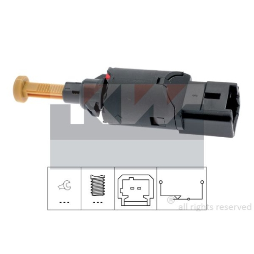 Brake Light Switch KW 510 194 Made in Italy - OE Equivalent CITROËN PEUGEOT