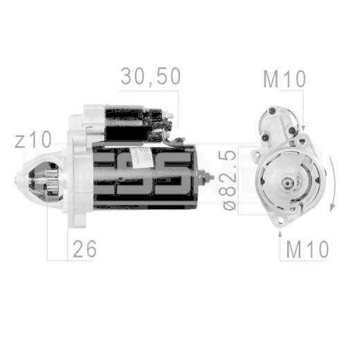 Starter ERA 220029A MERCEDES-BENZ