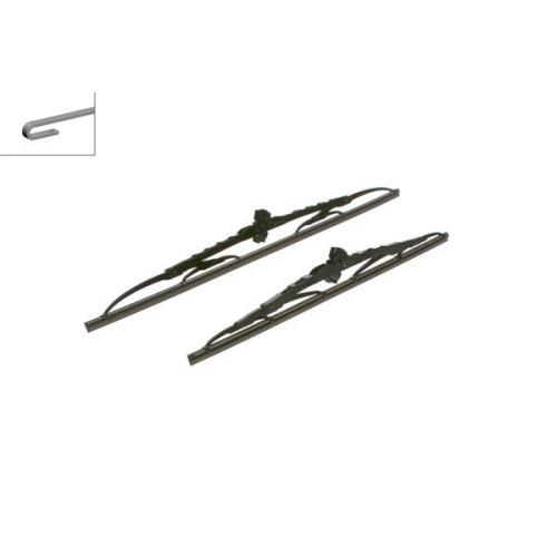 Wiper Blade BOSCH 3 397 001 361 Twin MAZDA