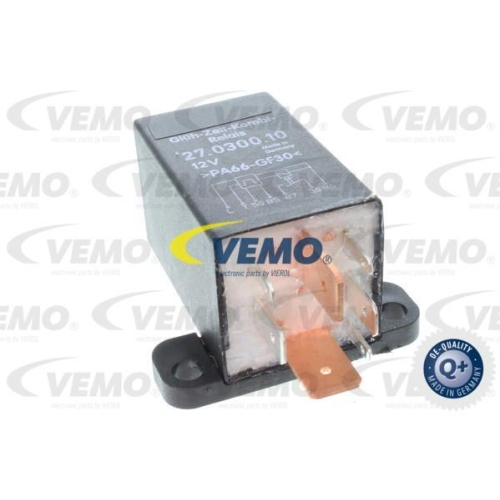 Relay, glow plug system VEMO V15-71-0028 SEAT SKODA VAG