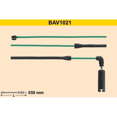 Warning Contact, brake pad wear BARUM BAV1021 BMW