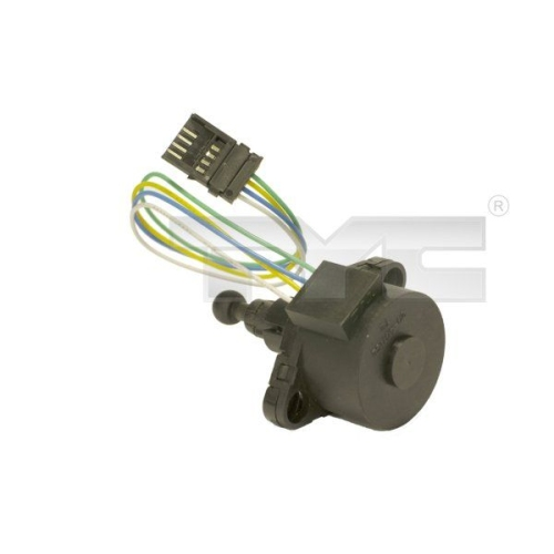 Control, headlight range adjustment TYC 20-11257-MA-1 AUDI VW