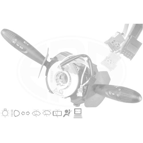 Steering Column Switch ERA 440450 OEM FIAT