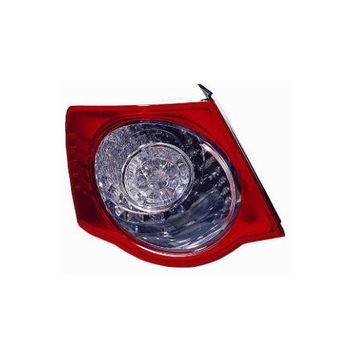 Combination Rearlight VAN WEZEL 5886921 VW