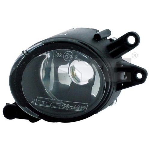 Fog Light TYC 19-0228-01-2 AUDI VOLVO