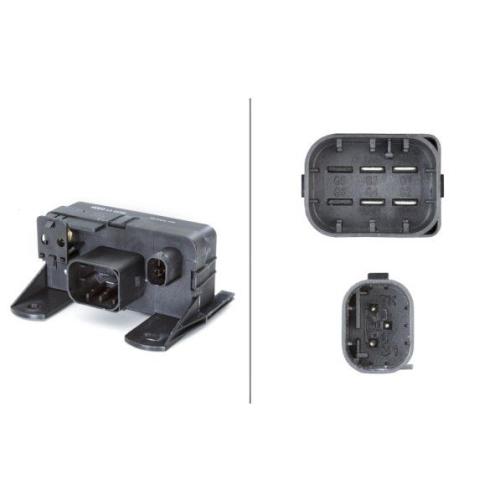 Relay, glow plug system HELLA 4RV 008 188-571 MERCEDES-BENZ