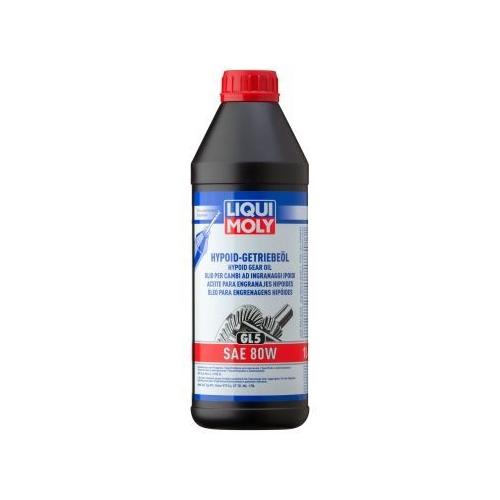 LIQUI MOLY HYPOID TRANSMISSION OIL (GL5) SAE 80W 1 liter 1025