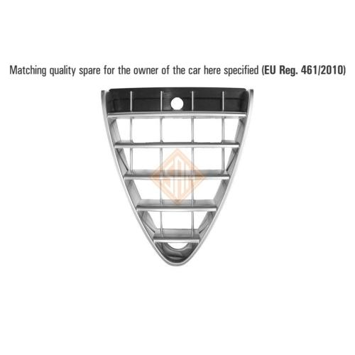 ISAM 0302511 Kühlergitter vorne mitte für Alfa Romeo 147