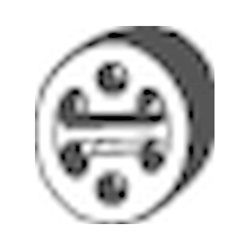 Gummistreifen, Abgasanlage BOSAL 255-145 FIAT MAZDA