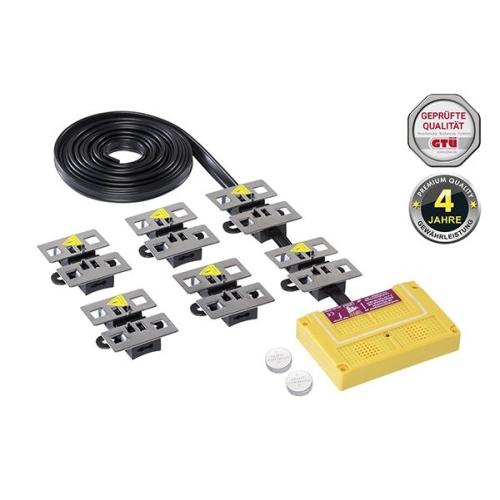 STOP&GO Marderschutz 8 PLUS-MINUS SKT Hochspannungsgerät mit Ultraschall 07542