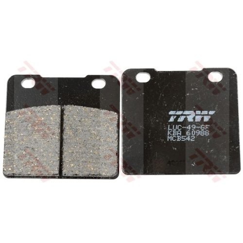 Brake Pad Set, disc brake TRW MCB542 Organic Allround