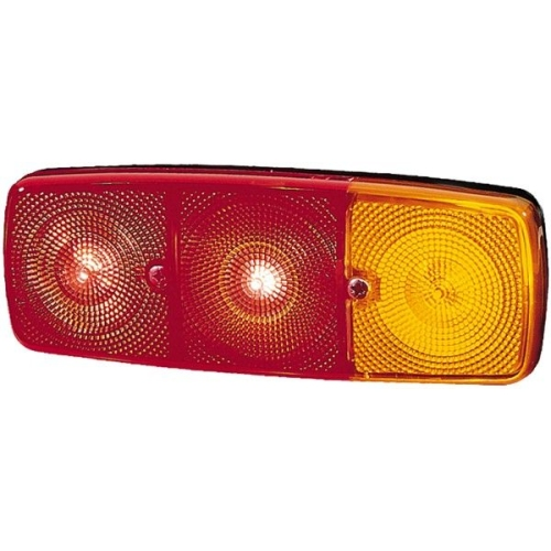 Combination Rearlight HELLA 2SD 001 699-061 DAF IVECO MAN MERCEDES-BENZ OPEL