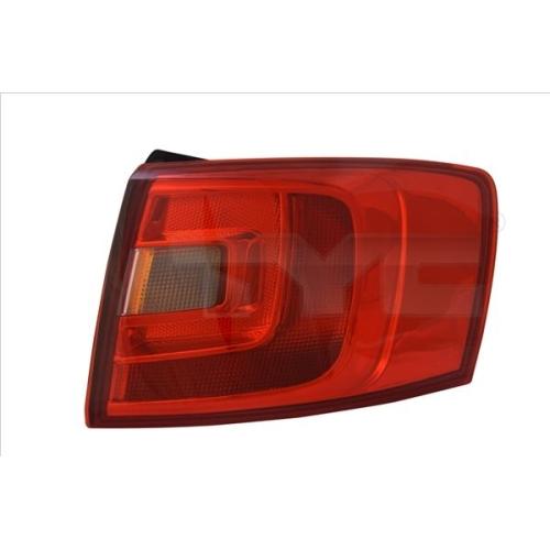 Combination Rearlight TYC 11-12165-00-9 VW
