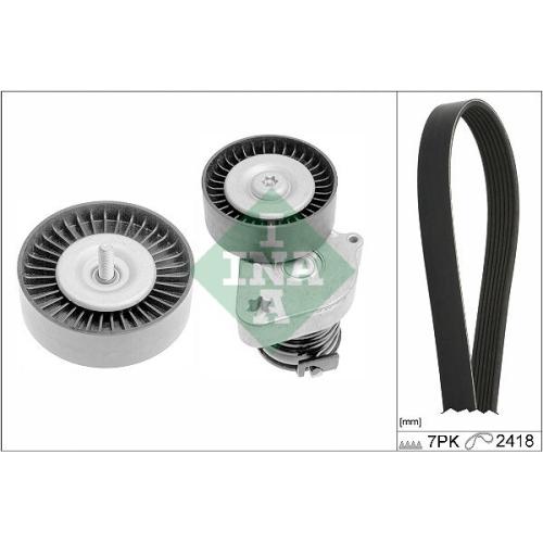 V-Ribbed Belt Set INA 529 0334 10 MERCEDES-BENZ