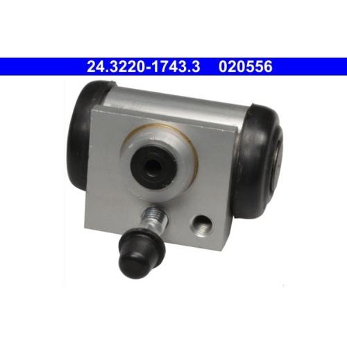 Wheel Brake Cylinder ATE 24.3220-1743.3 CITROËN OPEL PEUGEOT VAUXHALL