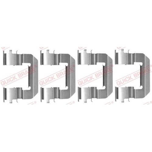 Accessory Kit, disc brake pad QUICK BRAKE 109-0014