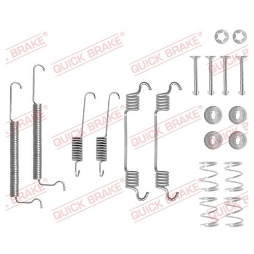 Accessory Kit, brake shoes QUICK BRAKE 105-0709
