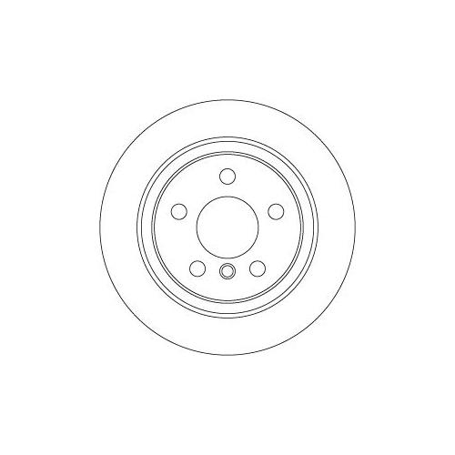 Brake Disc TRW DF6756 BMW MINI