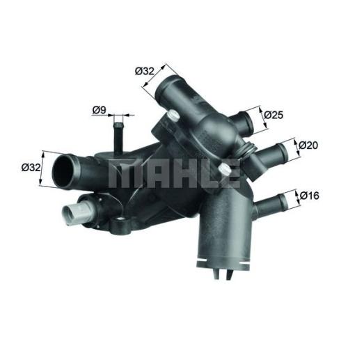 Thermostat, coolant BEHR TM 5 109 AUDI VAG CUPRA