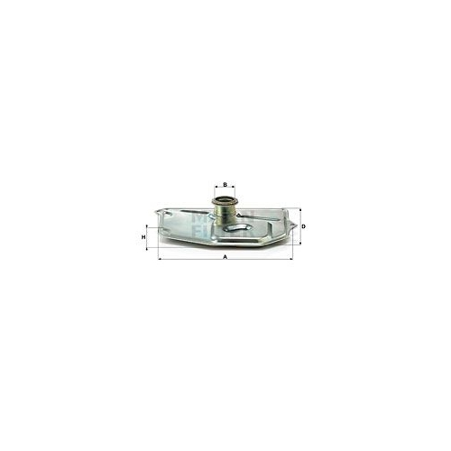 Hydraulikfilter, Automatikgetriebe MANN-FILTER H 199/3 KIT MERCEDES-BENZ