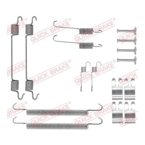 Accessory Kit, brake shoes QUICK BRAKE 105-0029