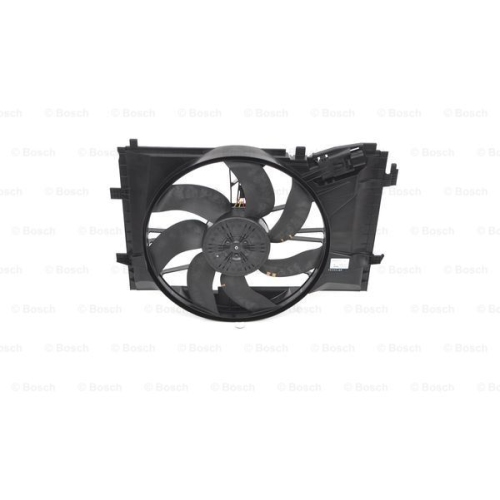 Electric Motor, radiator fan BOSCH 0 986 338 053 MERCEDES-BENZ