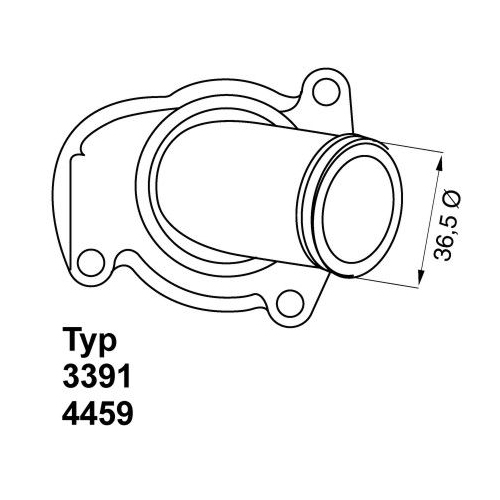 WAHLER Thermostat 4459.92D