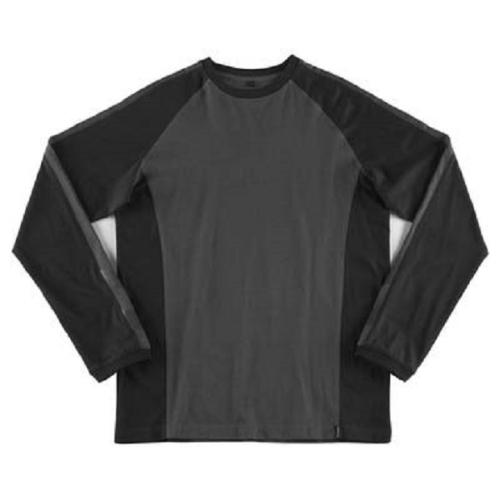 MASCOT T-SHIRT BIELEFELD L IN DARK ANTHRACITE / BLACKart. nr.: 50568-959-1809L