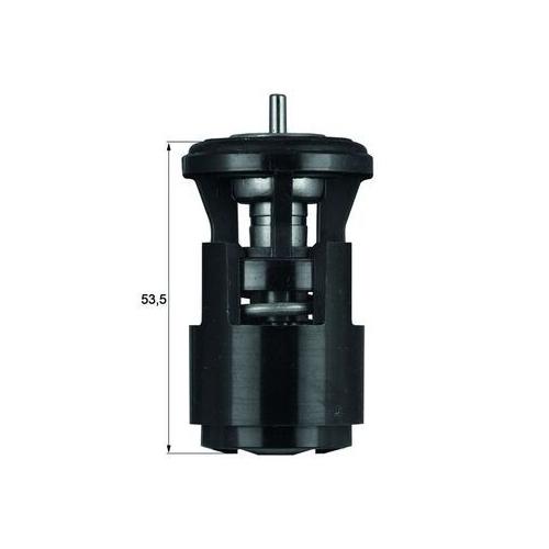 Thermostat, coolant MAHLE TX 41 80D AUDI VAG CUPRA