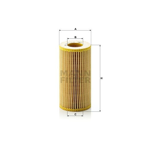 Oil Filter MANN-FILTER HU 719/8 x FORD VOLVO