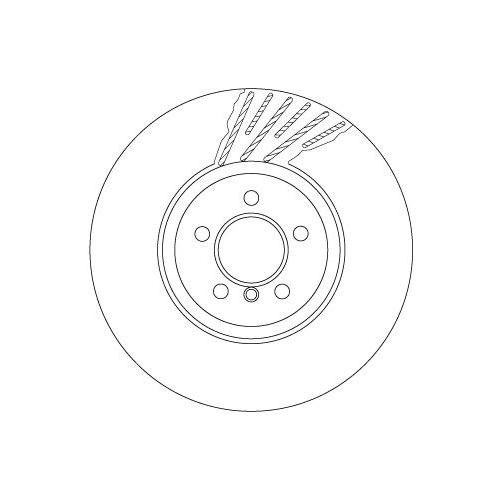 TRW Brake Disc DF6613S