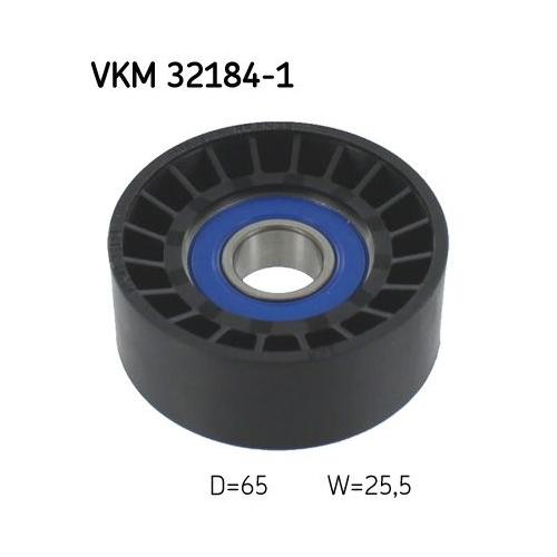 Umlenk-/Führungsrolle, Keilrippenriemen SKF VKM 32184-1