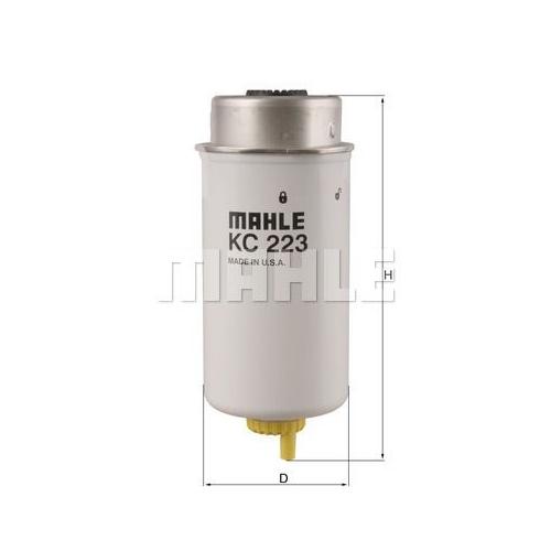 Kraftstofffilter MAHLE KC 223 FORD