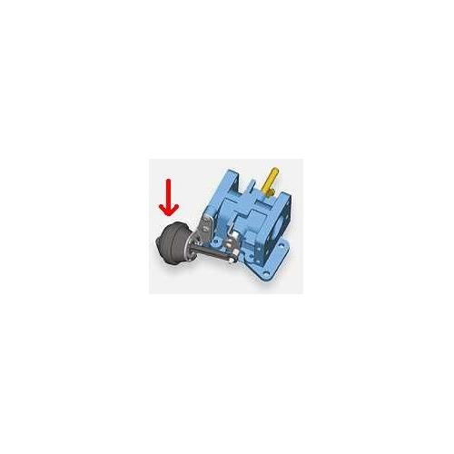 Unterdrucksteuerventil, Abgasrückführung BorgWarner (Wahler) 710413 AUDI SEAT VW