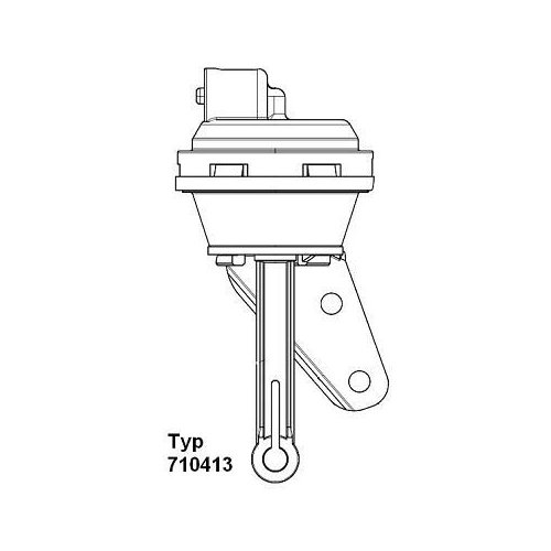 Vacuum Control Valve, EGR BorgWarner (Wahler) 710413 AUDI SEAT SKODA VW